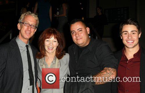 Andy Dick, Frances Fisher, Sam Trujillo and Paris Dylan 3