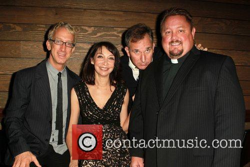 Andy Dick, Illeana Douglas and Wayne Fitterman 5