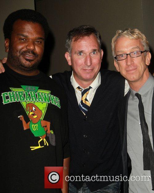 Craig Robinson, Andy Dick and Wayne Fitterman 4