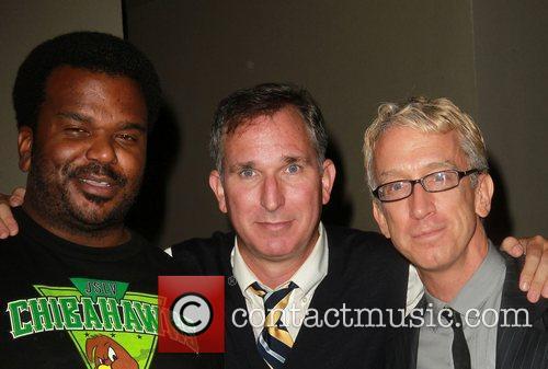 Craig Robinson, Andy Dick and Wayne Fitterman 3