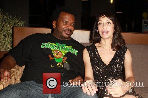 Craig Robinson and Illeana Douglas 2