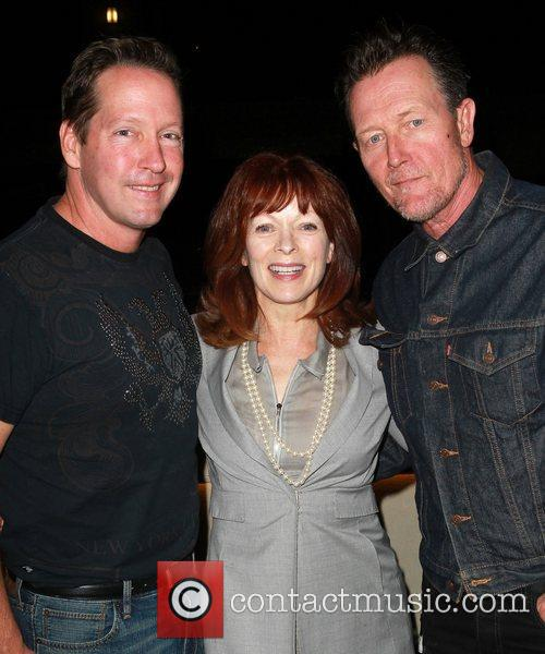 D. B. Sweeney, Frances Fisher and Robert Patrick...