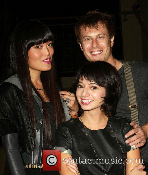 Hana Mae Lee, Noah Segan and Kate Micucci 2