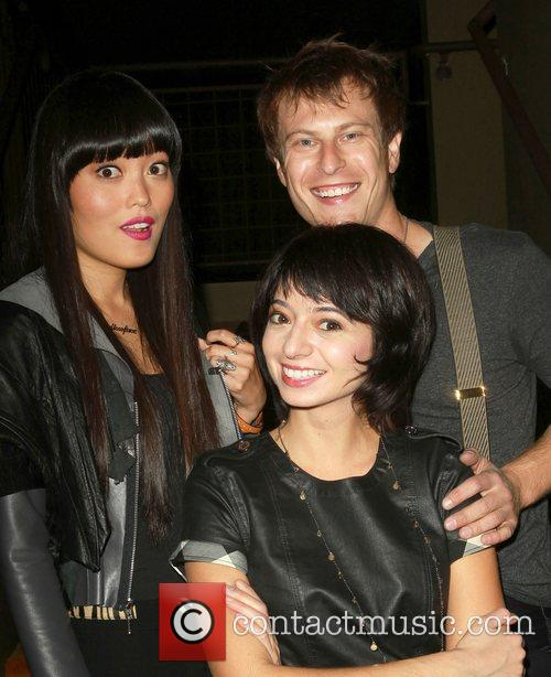 Hana Mae Lee, Noah Segan and Kate Micucci 1