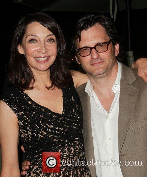 Illeana Douglas and Ben Mankiewicz 2