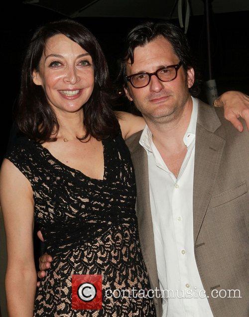 Illeana Douglas and Ben Mankiewicz 5