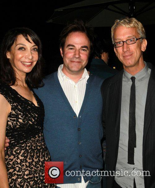 Illeana Douglas, Roger Bart and Andy Dick 4