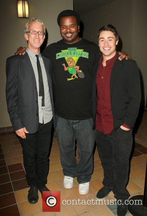 Andy Dick, Craig Robinson and Paris Dylan 6