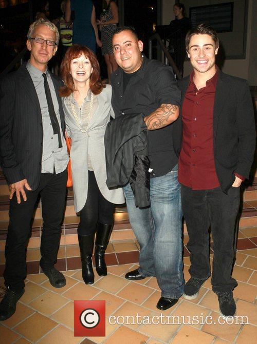 Andy Dick, Frances Fisher, Sam Trujillo and Paris Dylan 9