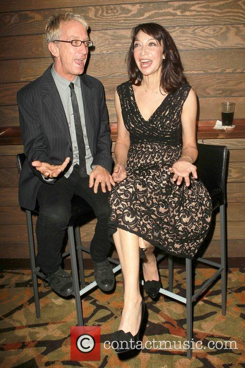 Andy Dick and Illeana Douglas 2
