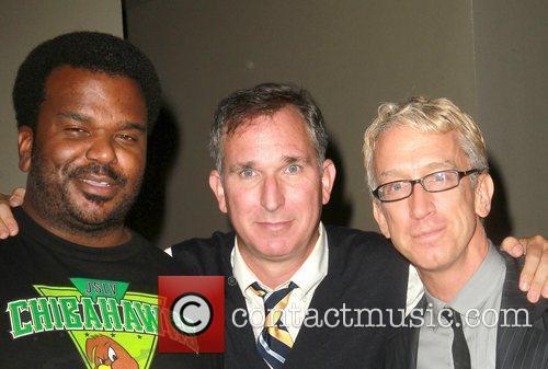 Craig Robinson, Andy Dick and Wayne Fitterman 1