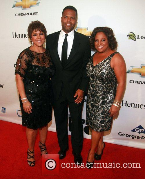 Linda Johnson Rice, AJ Calloway and Sherri Shepard...
