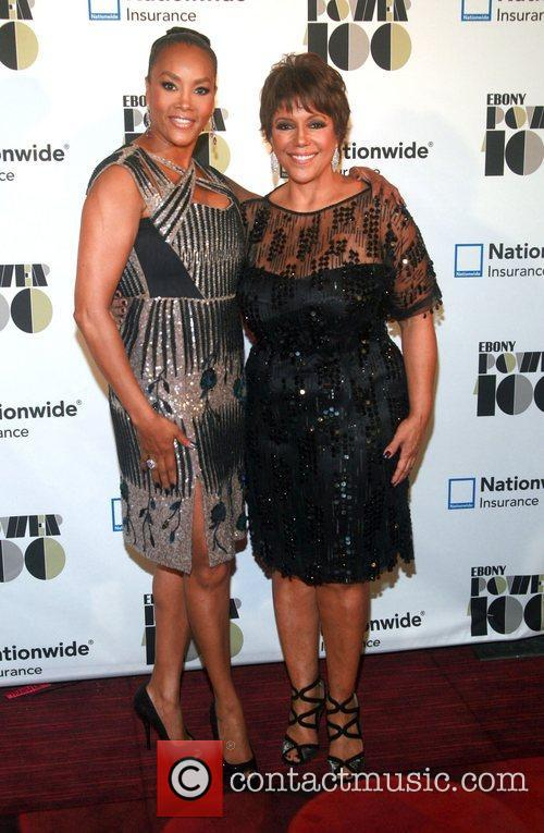 Vivica A. Fox and Chairman of Johnson Publishing...