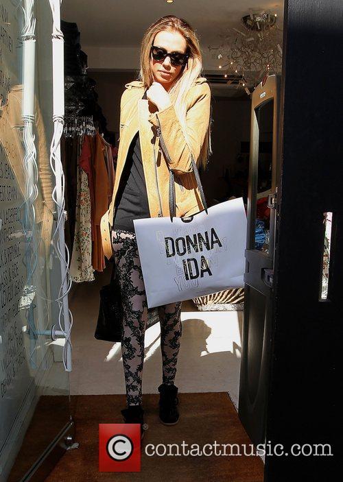 Petra Ecclestone shopping on the Kings Road London,...