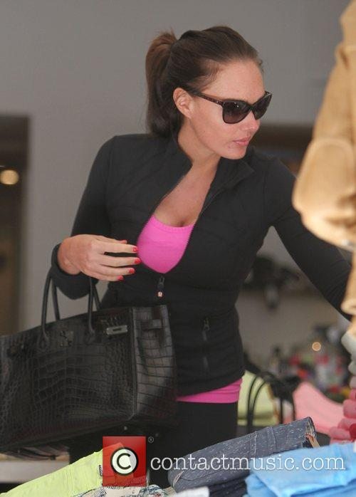 Tamara Ecclestone shopping on the Kings Road with...