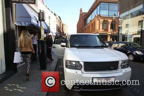 Petra Ecclestone  shopping on the Kings Road....