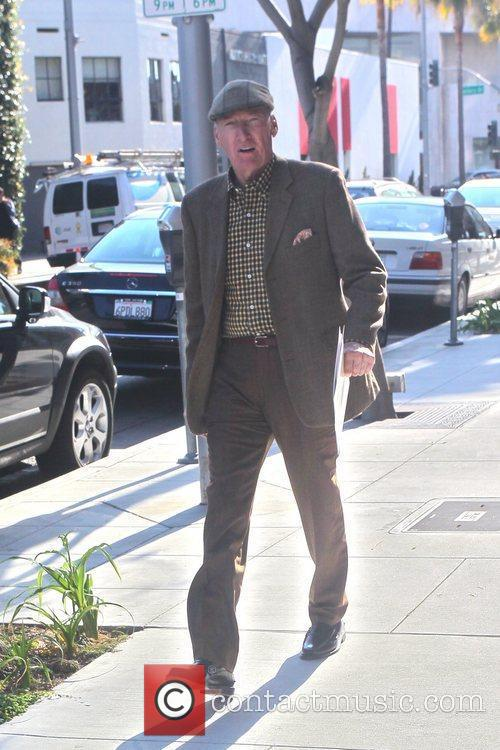 Ed Lauter out and about in Beverly Hills...