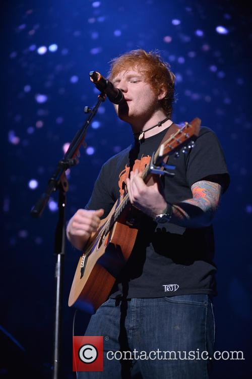 Ed Sheeran, Jingle Ball and T Center 7