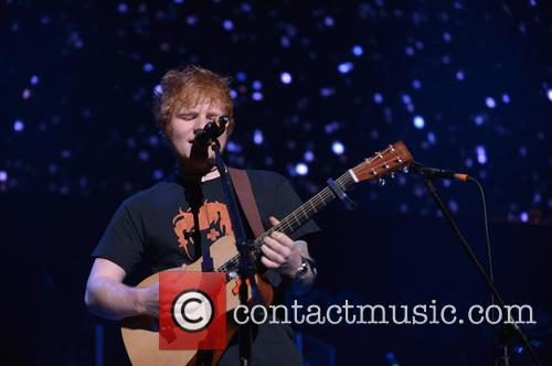 Ed Sheeran, Jingle Ball and T Center 18