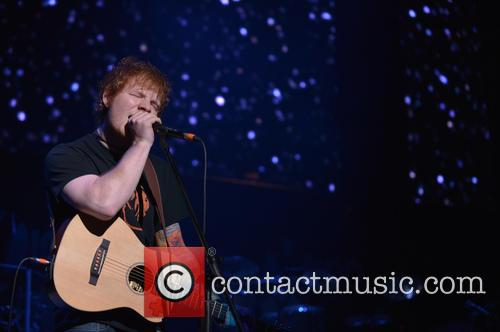 Ed Sheeran, Jingle Ball and T Center 9