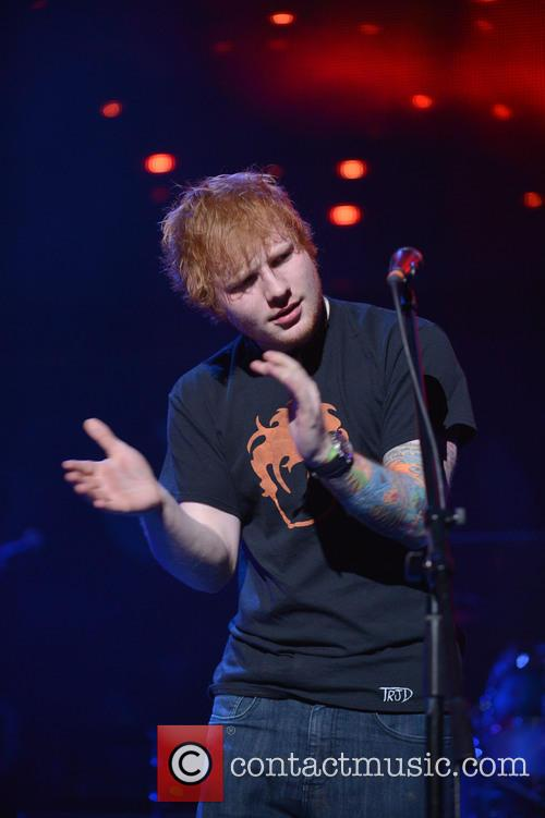 Ed Sheeran, Jingle Ball and T Center 4
