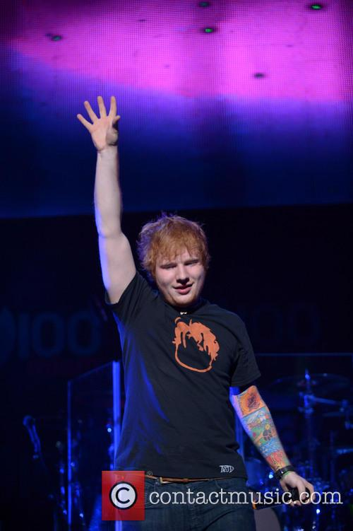 Ed Sheeran, Jingle Ball and T Center 10