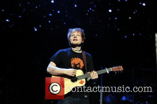 Ed Sheeran, Jingle Ball and T Center 6