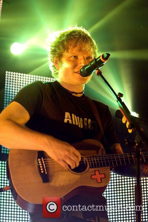 Ed Sheeran and Barrowlands Ballroom 6