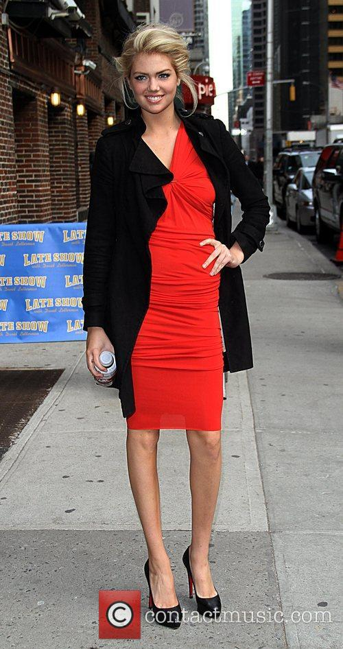 Arrive at the Ed Sullivan Theater for 'The...