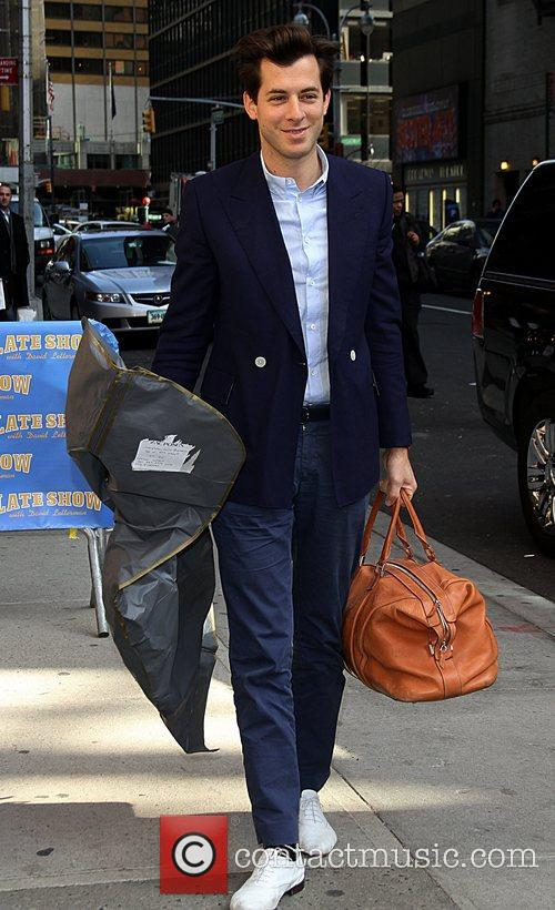 Mark Ronson  arrive at the Ed Sullivan...