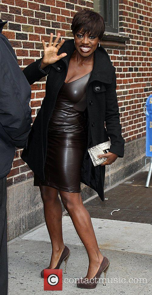 Viola Davis  arrive at the Ed Sullivan...