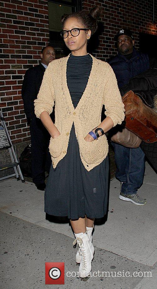 Erykah Badu  Celebrities arrive at the Ed...