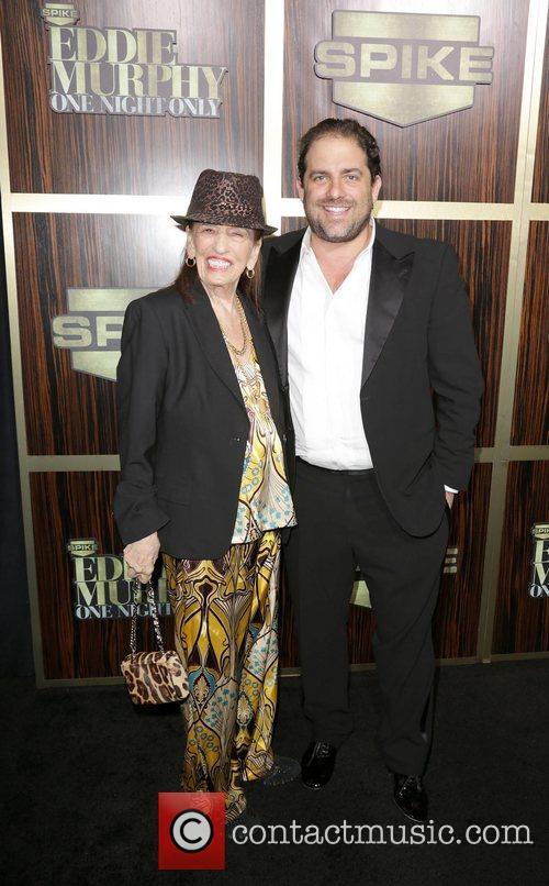Brett Ratner and Fanita Presman attends Spike TV's...