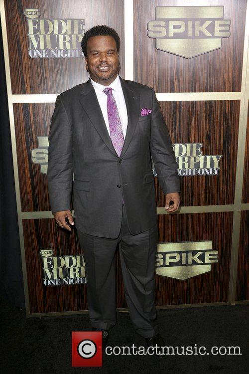 Craig Robinson attends Spike TV's 'Eddie Murphy: One...