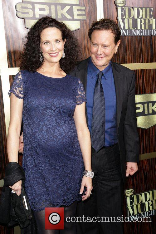 Judge Reinhold and Amy Reinhold