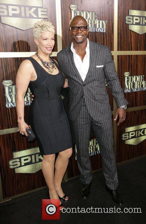 Rebecca King-Crews and Terry Crews attends Spike TV's...