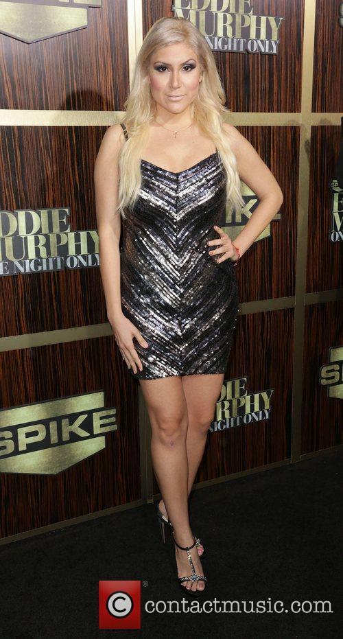 Sammi Benz attends Spike TV's 'Eddie Murphy: One...
