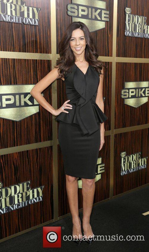 Terri Seymour attends Spike TV's 'Eddie Murphy: One...