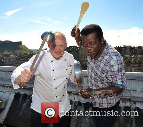 Jeff Bland and Stephen K. Amos Comedian Stephen...