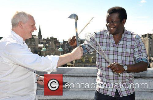 Comedian Stephen K. Amos and Michelin-starred chef Jeff...