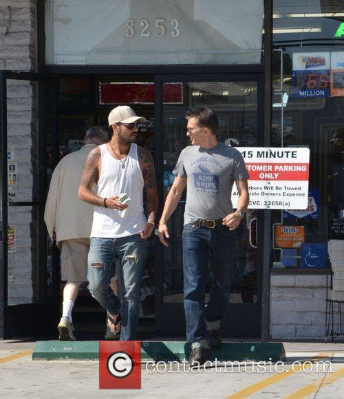 Eduardo Cruz and Olivier Martinez 1