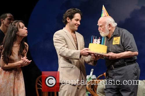 Paul Rudd, Ed Asner, Kate Arrington, The, Grace, Ed Asner's and New York City 4