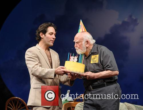Paul Rudd, Ed Asner, The, Grace, Ed Asner's and New York City 6
