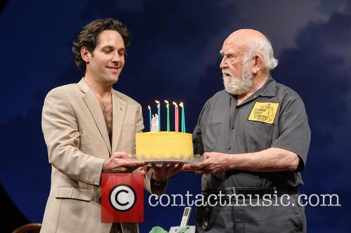 Paul Rudd, Ed Asner, The, Grace, Ed Asner's and New York City 7