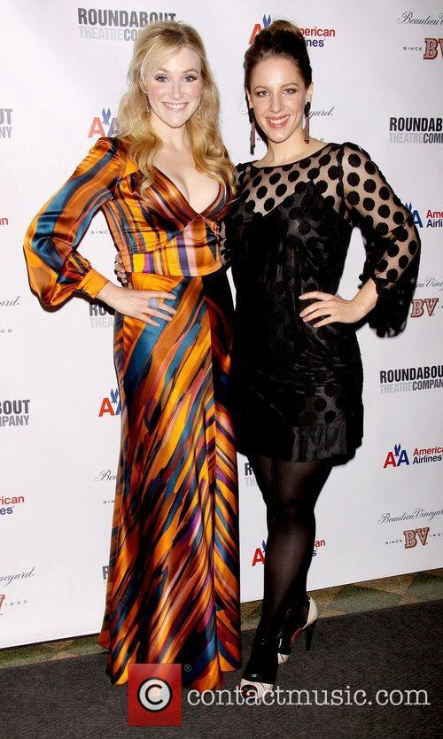 Betsy Wolfe and Jessie Mueller  at the...