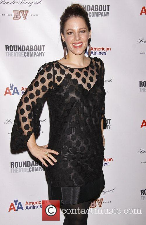 Jessie Mueller at the after party for 'The...