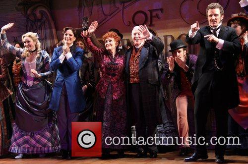 On the opening night curtain call for 'The...