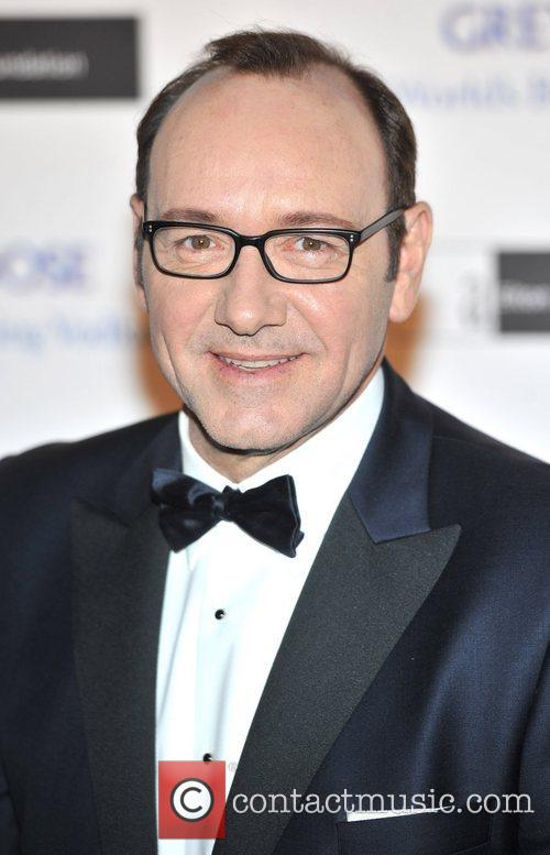 Kevin Spacey The Elton John AIDS Foundation Grey...