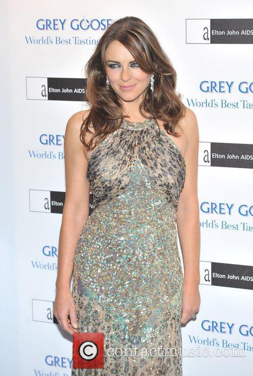 Elizabeth Hurley at the Grey Goose Ball