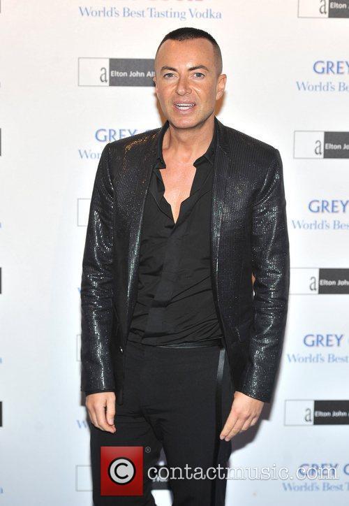 Julien Macdonald The Elton John AIDS Foundation Grey...